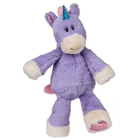 "Marshmallow Zoo Purple Unicorn Stuffed Animal - 13"" - Mary Meyer - Plush Friends"