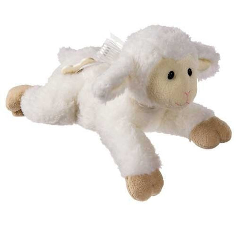 "Jesus Loves Me Melody Lamb Wind-Up Musical - 12"" - Mary Meyer Baby - Plush Friends"