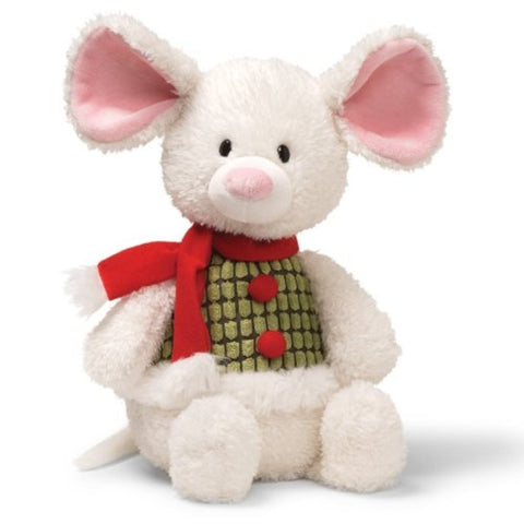"Mr. Jingles the Holiday Mouse Stuffed Animal Medium - 15"" - Gund - Plush Friends"