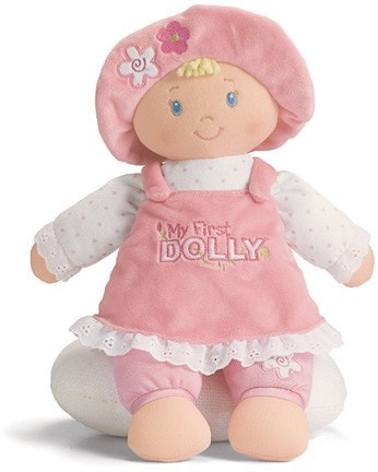 "Gund My First Dolly Blond Hair - 13"" - Baby Gund - Plush Friends"