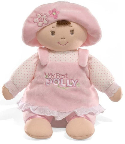 "Gund My First Dolly Brown Hair - 13"" - Baby Gund - Plush Friends"