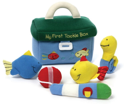 Baby Gund My First Tackle Box 5 Piece Playset - Plush Friends