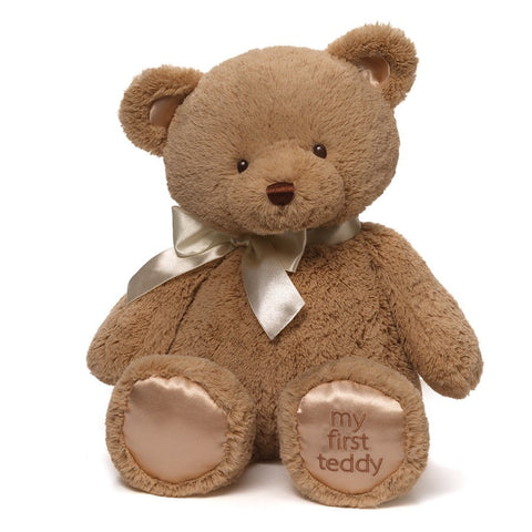 "My First Teddy Bear Brown Large - 18"" - Baby Gund - Plush Friends"