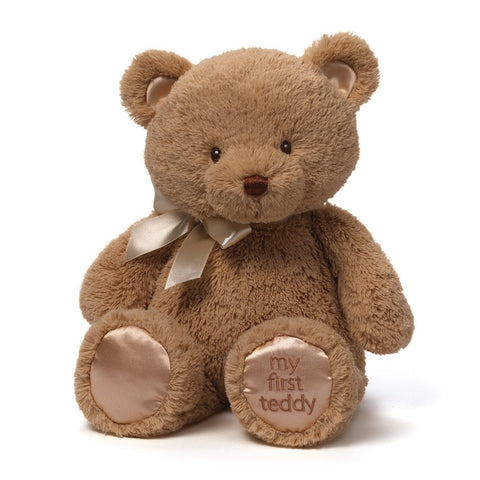"My First Teddy Bear Brown Medium - 15"" - Baby Gund - Plush Friends"