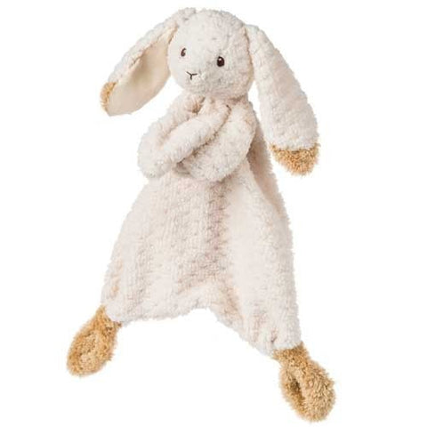 "Oatmeal Bunny Rabbit Lovey Blanket - 13"" - Mary Meyer Baby - Plush Friends"