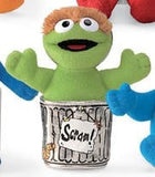 "Oscar the Grouch Sesame Street Beanbag - 5"" - Gund - Plush Friends"