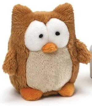 "Ottis the Owl Beanbag - 3"" - Gund - Plush Friends"