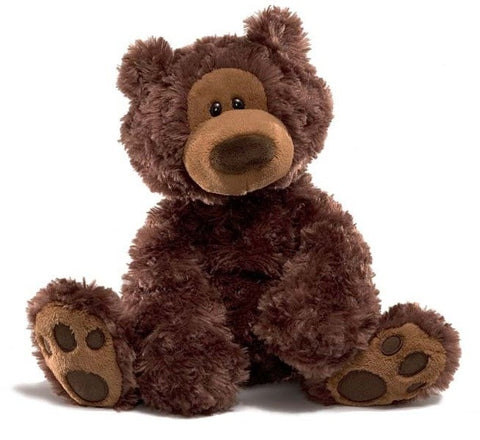 "Gund Philbin Chocolate Brown Teddy Bear - 13"" - Gund - Plush Friends"
