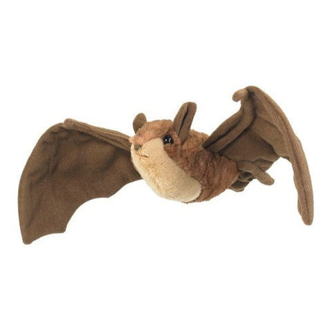 "Brown Bat Plush - 16"" - Wildlife Artists - Plush Friends"