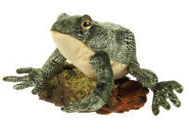 "Plush Bullfrog - 8.5"" - Fiesta - Plush Friends"
