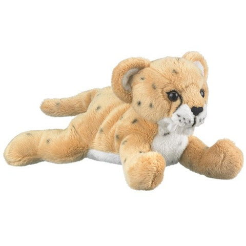 "Plush Cheetah Cub - 9"" - Wildlife Artists - Plush Friends"
