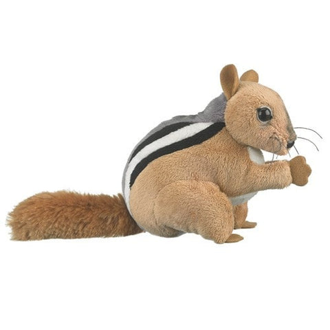 "Chipmunk Stuffed Animal - 6.5"" - Wildlife Artists - Plush Friends"