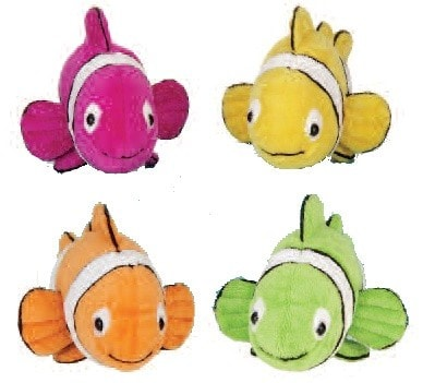 "Clown Fish Stuffed Animals - 7.5"" - Fiesta - Plush Friends"