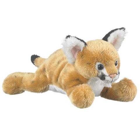 "Plush Cougar Cub - 9"" - Wildlife Artists - Plush Friends"