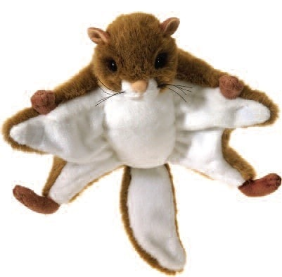 "Flying Squirrel Stuffed Animal - 9"" - Fiesta - Plush Friends"