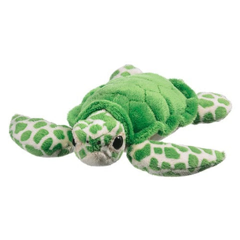 "Green Sea Turtle Stuffed Animal - 9"" - Wildlife Artists - Plush Friends"