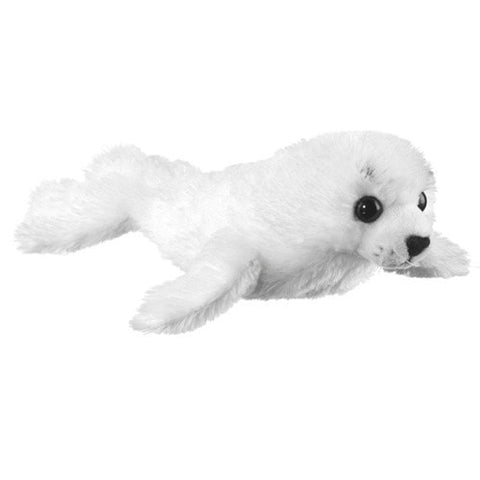 "Harp Seal Plush Pup - 11"" - Wildlife Artists - Plush Friends"