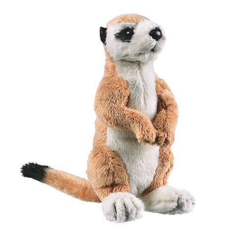 "Meerkat Plush - 7.5"" - Wildlife Artists - Plush Friends"