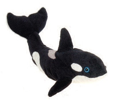 "Orca Whale Stuffed Animal - 15"" - Fiesta - Plush Friends"