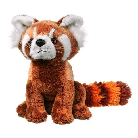 "Plush Red Panda Stuffed Animal - 8"" - Wildlife Artists - Plush Friends"