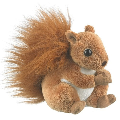 "Red Stuffed Squirrel - 6"" - Wildlife Artists - Plush Friends"