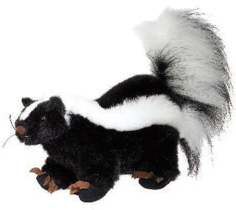 "Stuffed Animal Skunk - 10"" - Fiesta - Plush Friends"