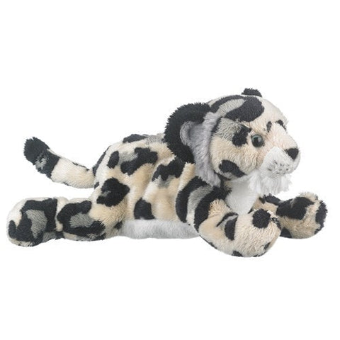 "Plush Snow Leopard Cub - 9"" - Wildlife Artists - Plush Friends"