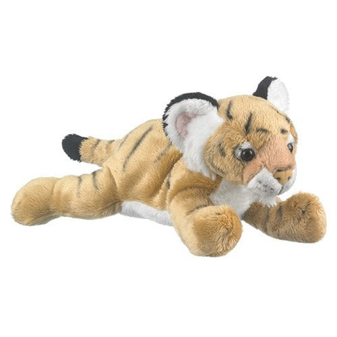 "Stuffed Tiger Cub - 9"" - Wildlife Artists - Plush Friends"