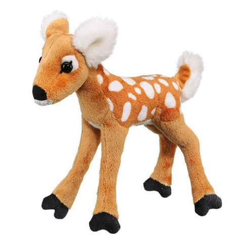"Deer Stuffed Animal Whitetailed Fawn - 10"" - Wildlife Artists - Plush Friends"