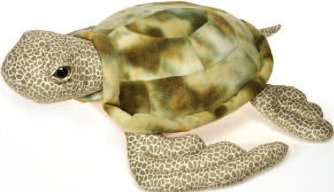 "Stuffed Sea Turtle Large - 25"" - Fiesta - Plush Friends"