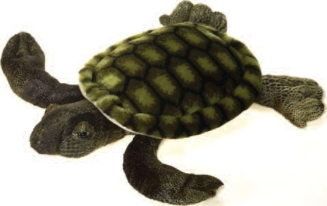 "Stuffed Sea Turtle Medium - 14"" - Fiesta - Plush Friends"