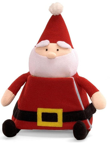 "Plush Santa Claus Book - 9"" - Baby Gund - Plush Friends - 2"