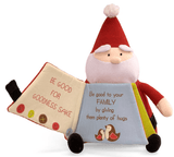 "Plush Santa Claus Book - 9"" - Baby Gund - Plush Friends - 1"