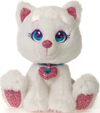 "Sparkle Starz Boo the White Cat - 8"" - Fiesta - Plush Friends"