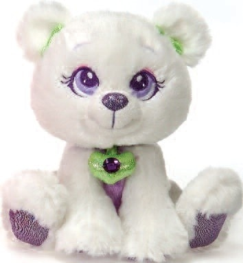 "Sparkle Starz Snowflake the Polar Bear Plush Toy - 8"" - Fiesta - Plush Friends"