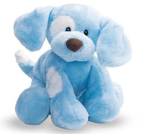 "Gund Spunky the Blue Barking Dog - 8"" - Baby Gund - Plush Friends"