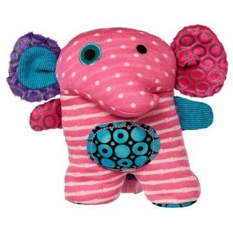 "Stand Up For You Ikimono Pink Elephant Stuffed Animal - 6"" - Mary Meyer - Plush Friends"