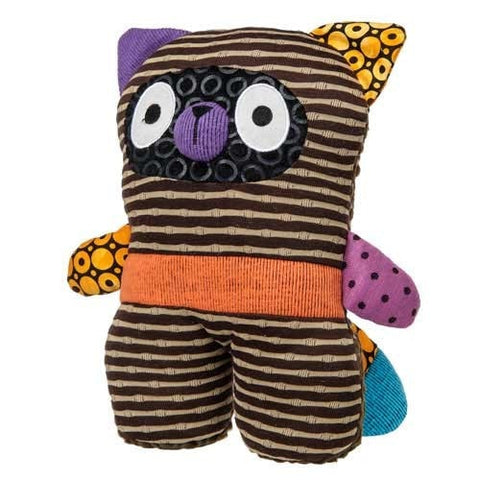 "Stand Up For You Ikimono Plush Raccoon Toy Large - 10"" - Mary Meyer - Plush Friends"