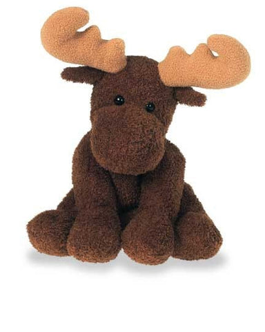 "Sweet Marlon Moose Plush Stuffed Animal - 9"" - Mary Meyer - Plush Friends"
