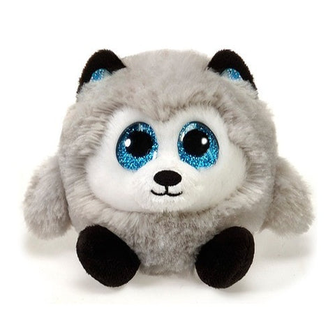 "Lubby Cubbies Hunter the Husky Dog - 3.5"" - Fiesta"