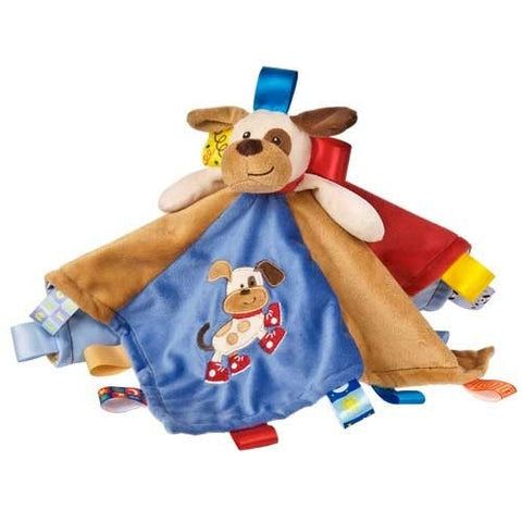 "Taggies Buddy Dog Character Blanket - 13.5"" - Mary Meyer Baby - Plush Friends"
