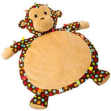 Taggies Dazzle Dots Monkey Blanket Bestever Baby Mat - 31' - Mary Meyer Baby - Plush Friends