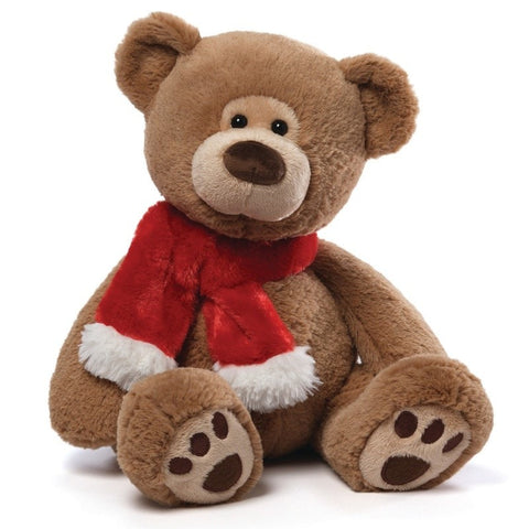 "Tassel the Christmas Teddy Bear Large - 16"" - Gund - Plush Friends"