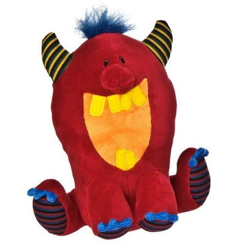 "Thugz Big Red Monster - 9"" - Mary Meyer - Plush Friends"