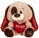 "XOXO Heart Valentine's Day Dog - 11"" - Fiesta"