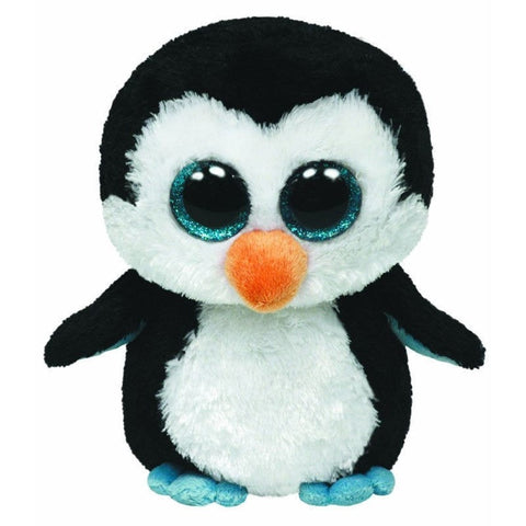 "Waddles the Penguin - 6"" - Ty Beanie Boo's - Plush Friends"