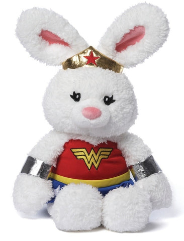 "Anya Wonder Woman Bunny - 12"" - Gund - Plush Friends"