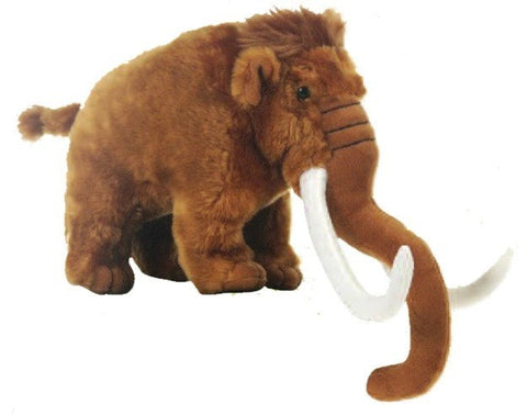 "Wooly Mammoth Stuffed Animal - 11"" - Fiesta - Plush Friends"