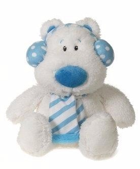 "White Winter Teddy Bear - 14.5"" - Fiesta"