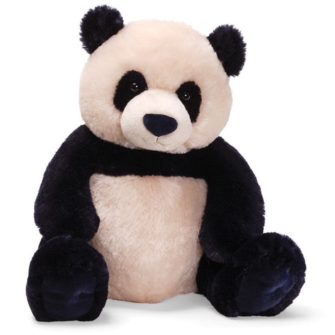 "Zi-Bo Panda Teddy Bear Large - 17"" - Gund - Plush Friends"